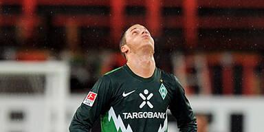 Werder von eigenen Fans verspottet