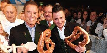 Arnie im Stanglwirt: Alles drehte sich um die Weißwurst