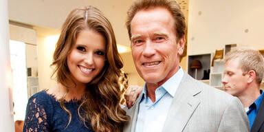 Katherine Schwarzenegger, Arnold Schwarzenegger