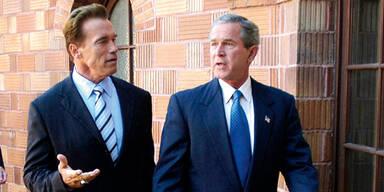Schwarzenegger Bush