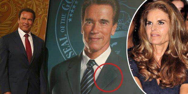 Arnie lässt seine Ex übermalen