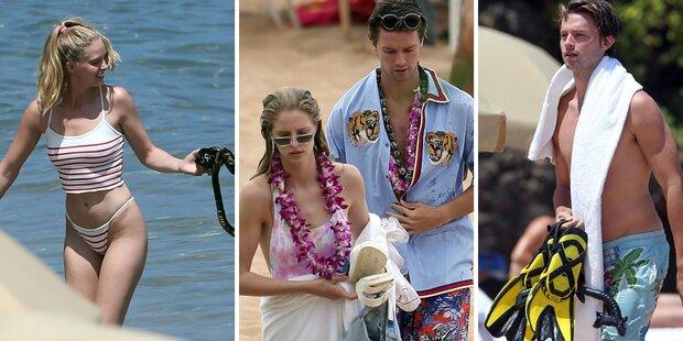 Arnie-Sohn: Liebesurlaub auf Hawaii