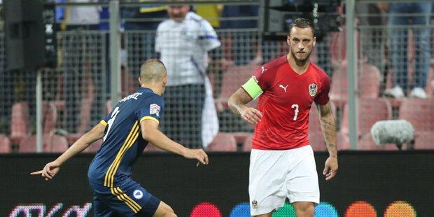 ÖFB-Team verliert gegen Bosnien