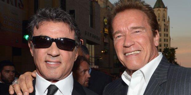 Stallone Mehr Hat Arnold SchwarzeneggerSylvester Als Wehwehchen Ich RcL54A3qj