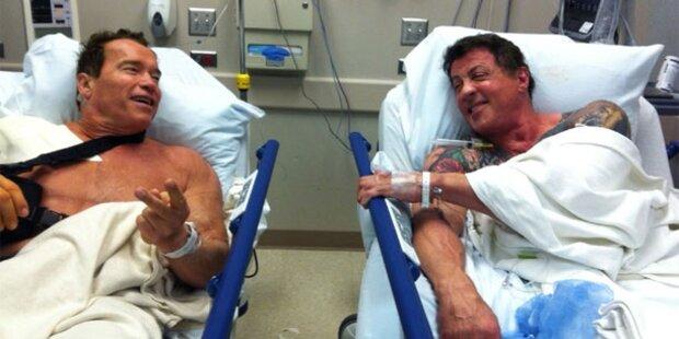 Sly & Arnie: Zwei Action-Helden im Spital