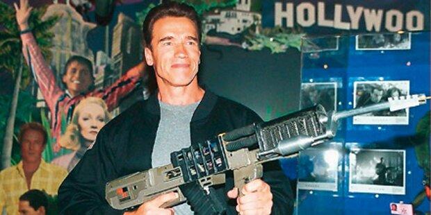 Schwarzenegger legt Filmpläne auf Eis