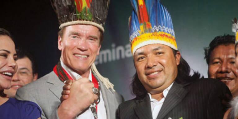 """""""Indianer"""" Arnie vor Film-Comeback"""