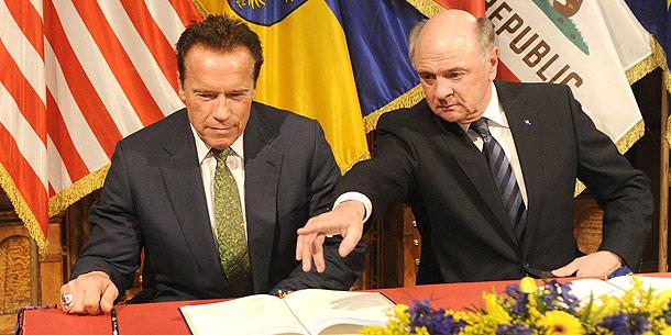 Arnold Schwarzenegger; Erwin Pröll