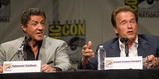 Sly und Arnie und Co. bald wieder im Kino