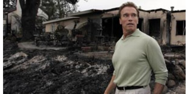 Brand in Malibu beinahe komplett gelöscht
