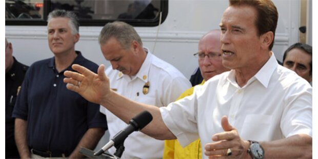 Arnie will 25.000 Häftlinge freilassen