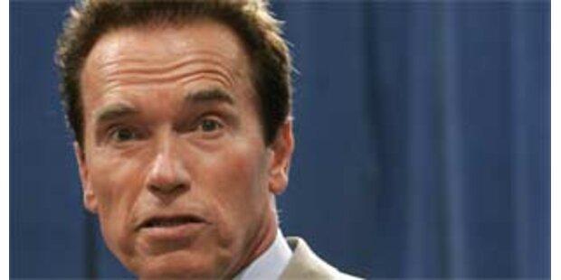 Arnie würde so gerne US-Präsident werden
