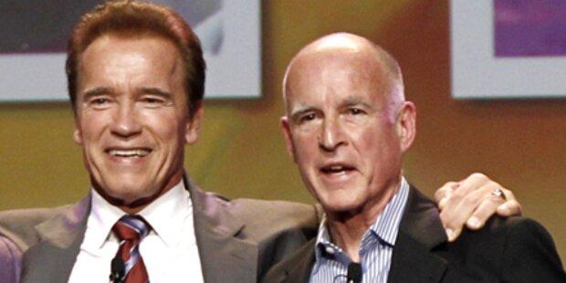 Arnies Nachfolger glaubt an Aliens
