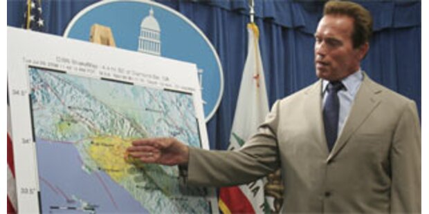 Heftiges Erdbeben erschüttert Kalifornien