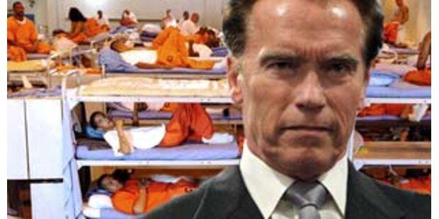 Kalifornien muss 58.000 Häftlinge entlassen