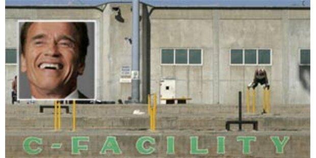 Arnie will Tausende Häftlinge entlassen