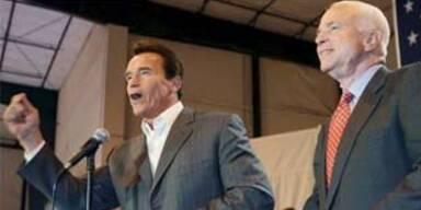 Schwarzenegger spielt Wahlhelfer für McCain