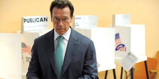 So verwählte sich Arnold Schwarzenegger