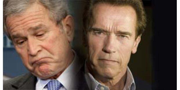 Gouvernator greift Bush an