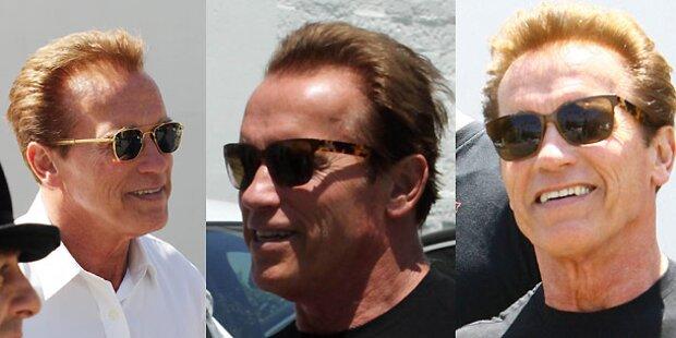Männer die ihre Haare färben…