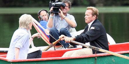 Schwarzenegger: Heiratsantrag im Boot