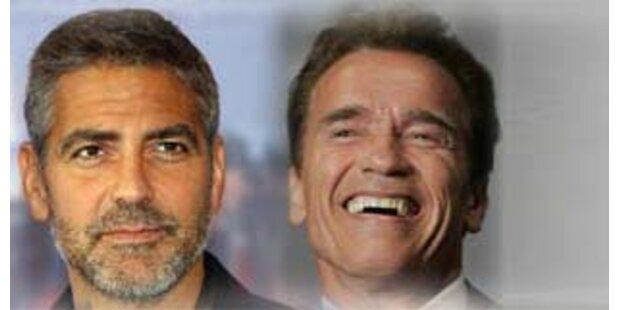 Arnie plant Clooney als Nachfolger