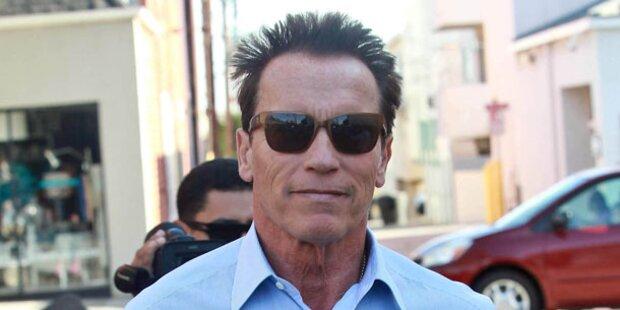 Arnie kommt nach Kitz