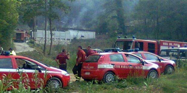 Italien: Sechs Tote in Feuerwerksfabrik