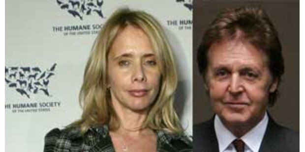 Was läuft bei Paul McCartney und Rosanna Arquette?