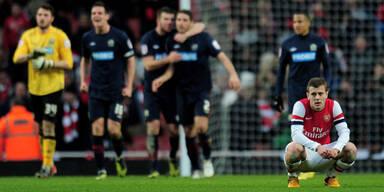Arsenal scheiterte im FA-Cup an Blackburn