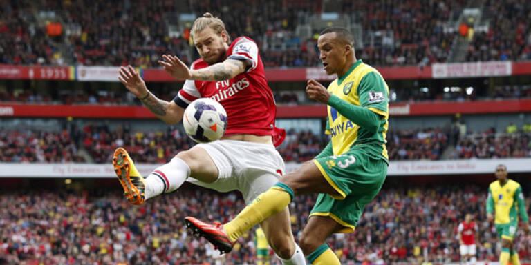 England: Arsenal weiter Tabellen-Leader