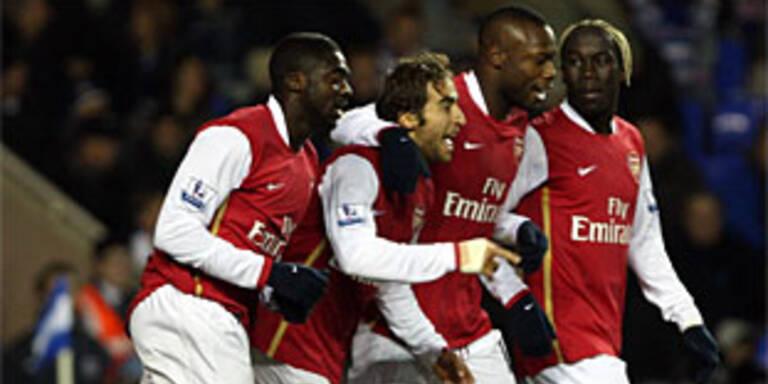 Arsenal erobert Tabellenführung zurück