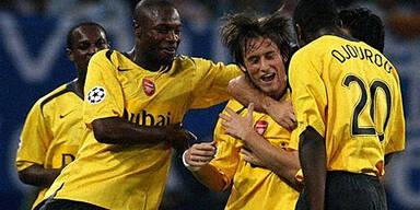 Arsenal siegt beim HSV