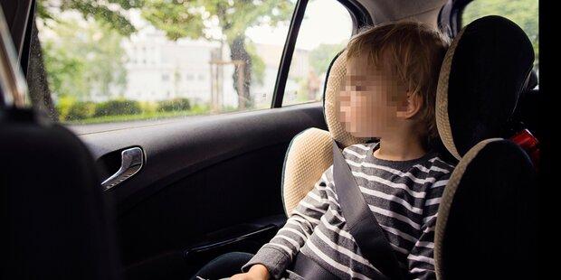 Kärntner rettete Kleinkind aus heißem Auto