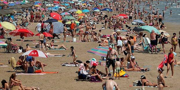 Spaniens Strände schließen wieder