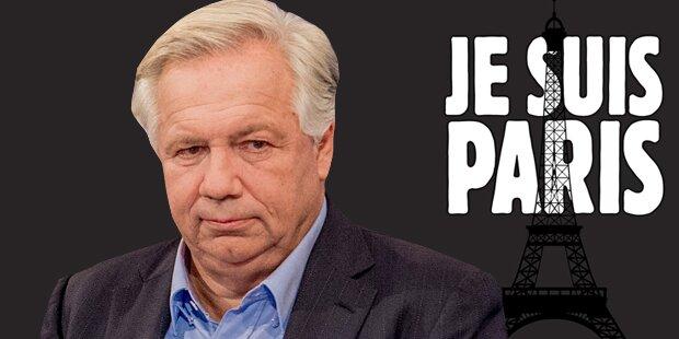Wir alle sind Paris - stoppt die IS-Mörder!