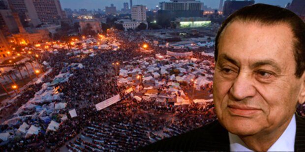 Mubarak narrt die ganze Welt