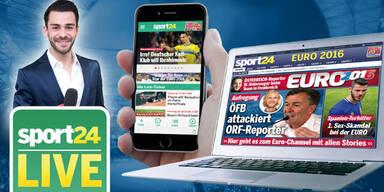 Sport24-App: Alle Tore des Spiels LIVE aufs Handy