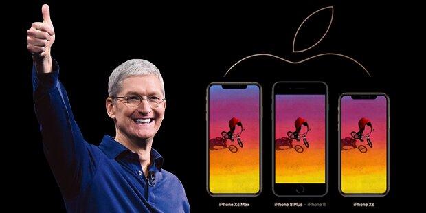iPhone XS, XS Max, XR und Apple Watch 4