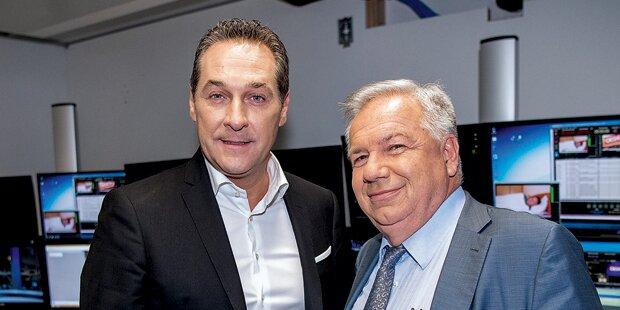 Strache bestätigt geheimes Treffen mit Kurz