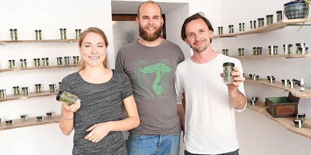 Mitten in Wien: Cannabis legal!