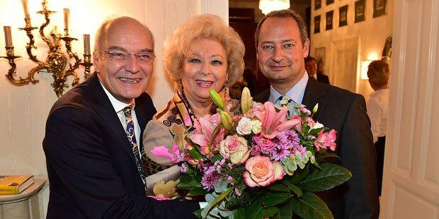 Birgit Sarata lud zu Nobel-Cocktail