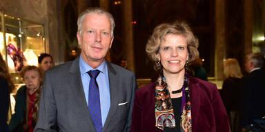 Reinhold Mitterlehner & KHM-Direktorin S. Haag