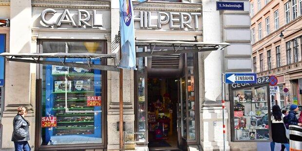 Ältestes Spielwaren-Geschäft Wiens schließt