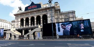 Wiener Staatsoper wird zu Hollywood