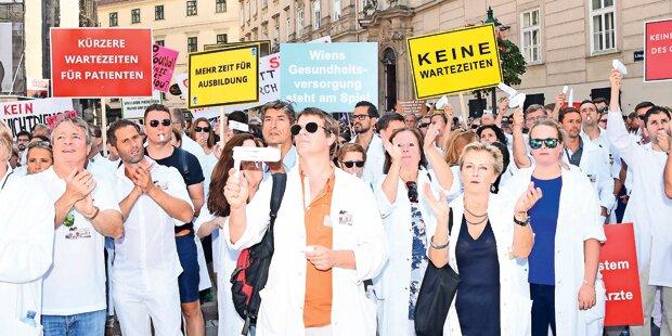 Ärzteprotest: Hier wird gestreikt