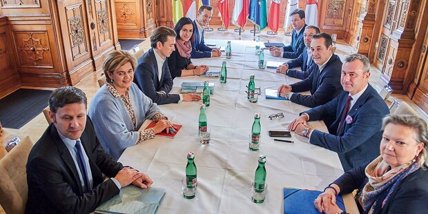Koalitions-Poker: Hinter den Kulissen