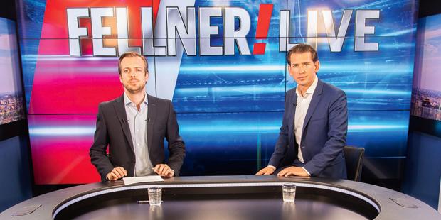 Kurz oe24.TV Fellner Live