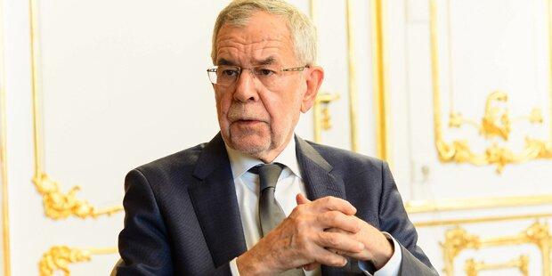Van der Bellen: 'Spionage ist inakzeptabel'