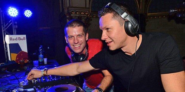 Tom Snow & DJ Observer am Lake